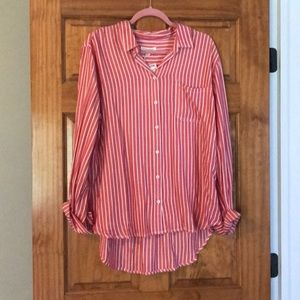 NWT! Soft striped blouse